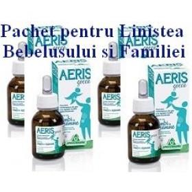 AERIS picaturi colici nou nascuti Pachet pentru Linistea Bebelusului si a Familiei
