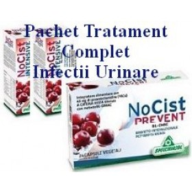 PACHET TRATAMENT COMPLET INFECTII URINARE 2 NO CIST intensive +1 NO CIST prevent