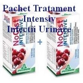 PACHET TRATAMENT INTENSIV  INFECTII URINARE 2 x NO CIST Intensive